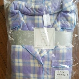 Adonna 2 pc sleep set Med NWT
